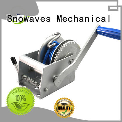 Snowaves Mechanical high-quality boat trailer hand winch speed for picnics