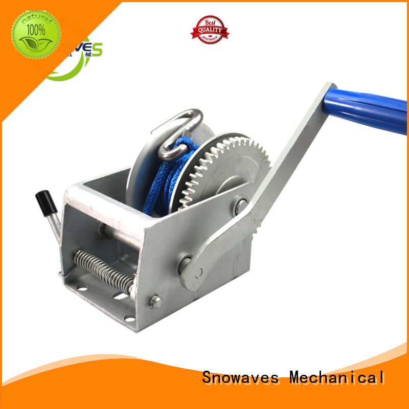 Snowaves Mechanical best hand winches for picnics