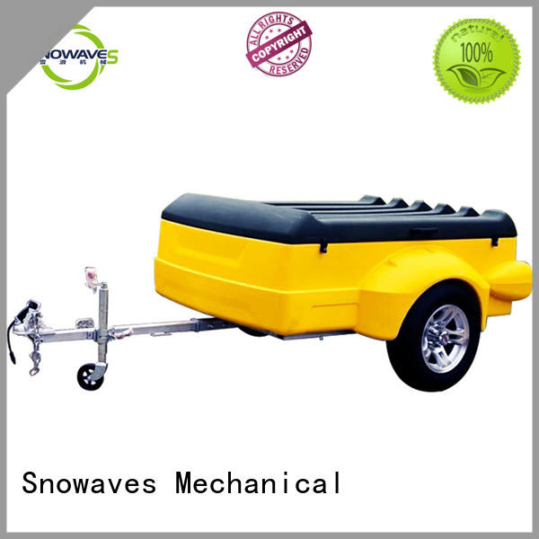 Snowaves Mechanical trailers luggage trailer Supply for no cable