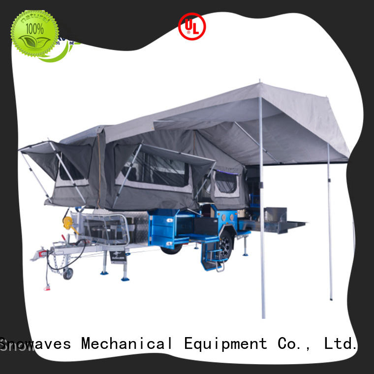Snowaves Mechanical data folding trailers Suppliers for one-way trips
