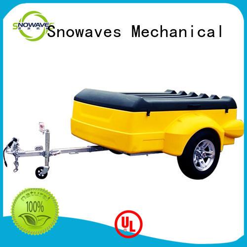 Snowaves Mechanical waterproof plastic utility trailer Supply for outdoor activities