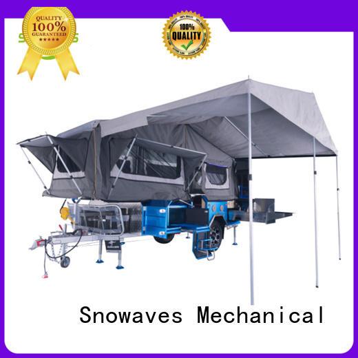 Snowaves Mechanical Brand folding camper data folding utility trailer trailer
