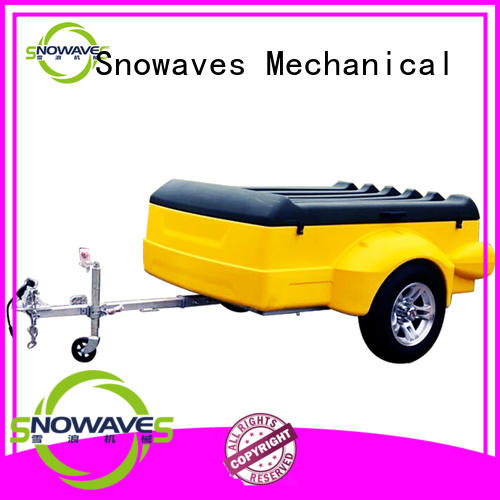 Snowaves Mechanical Latest plastic utility trailer factory for outdoor activities