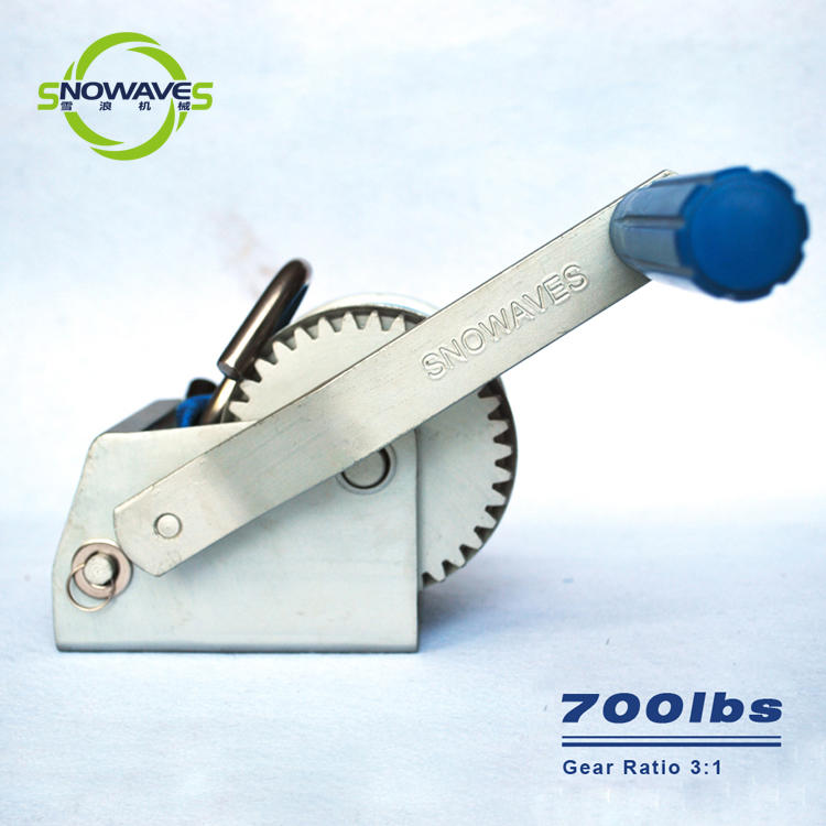 Trailer hand winch 3:1 (single speed) 300kg pulling SW700