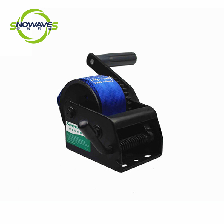 Snowaves Mechanical Custom boat hand winch factory for outings-3