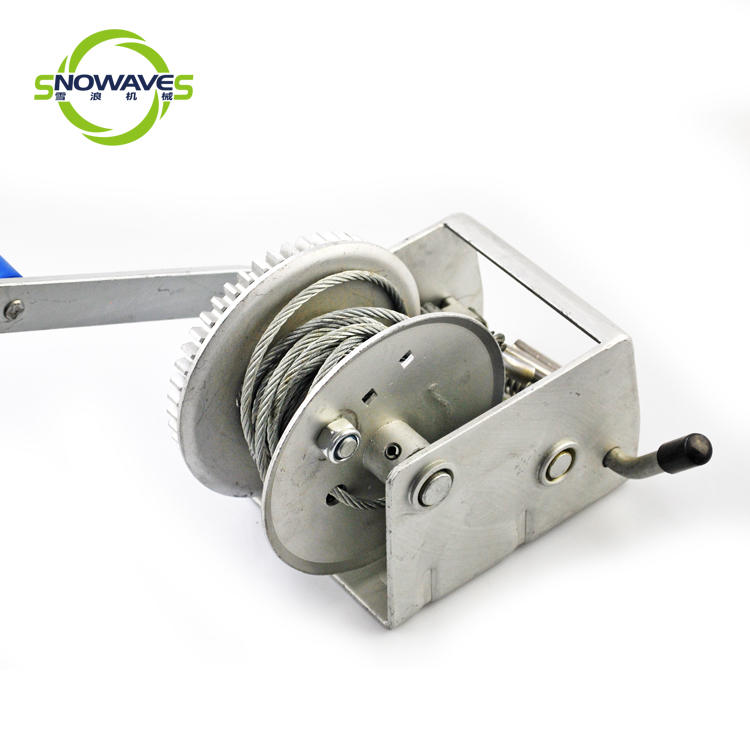 Trailer hand winch 3:1 (single speed) 500kg pulling SW1100