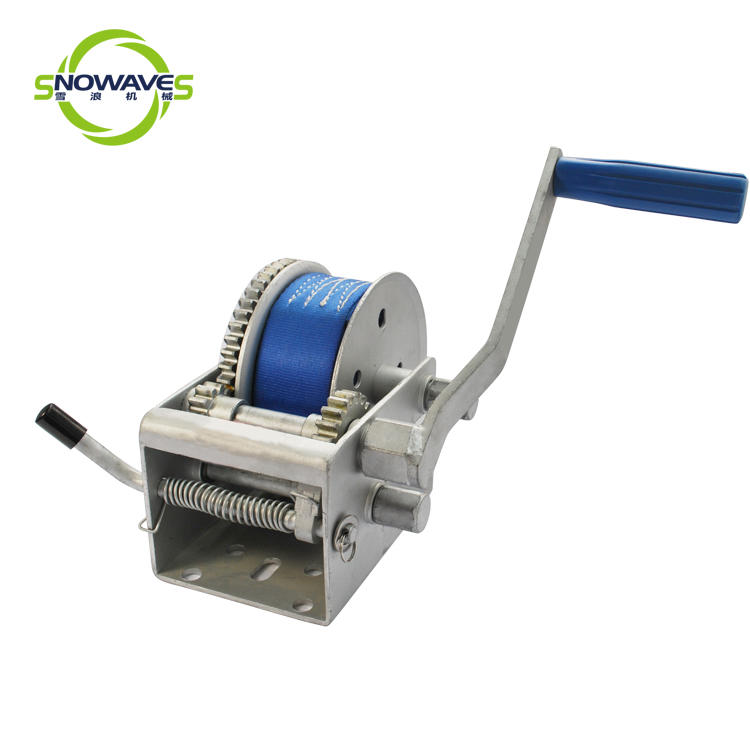 Snowaves Mechanical Best manual trailer winch factory for car-1
