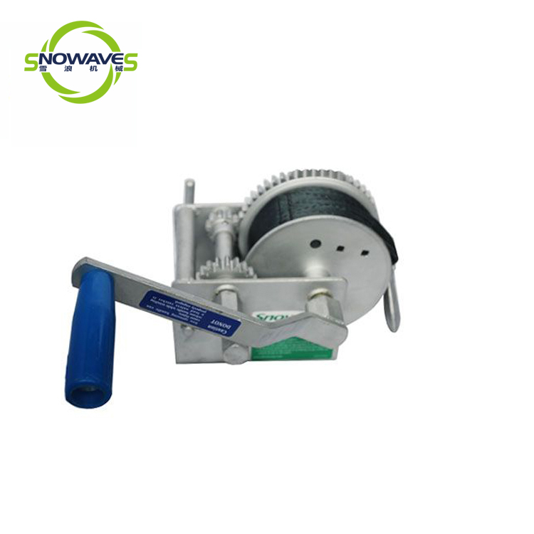 Snowaves Mechanical single hand winches supply for camping-2