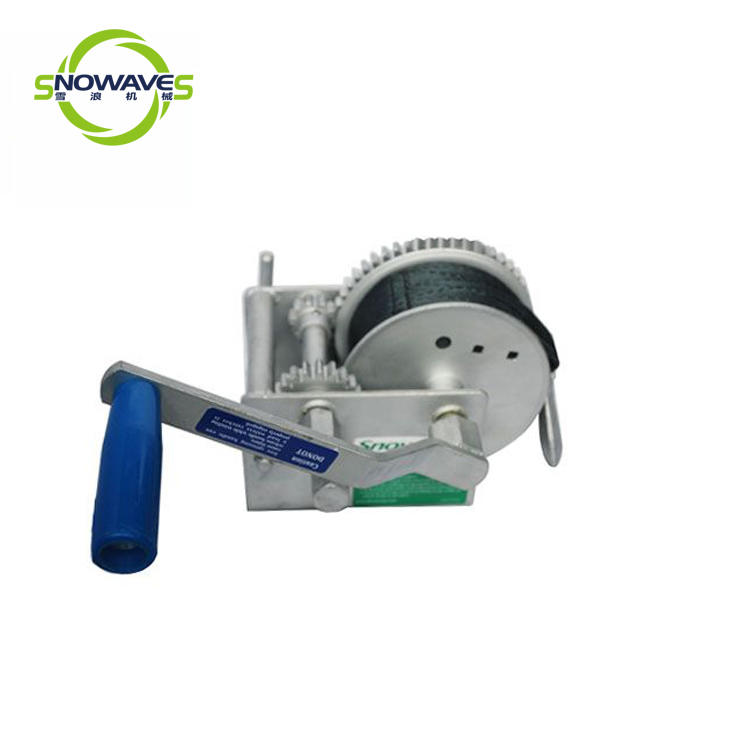door configuration hand manual winch Snowaves Mechanical