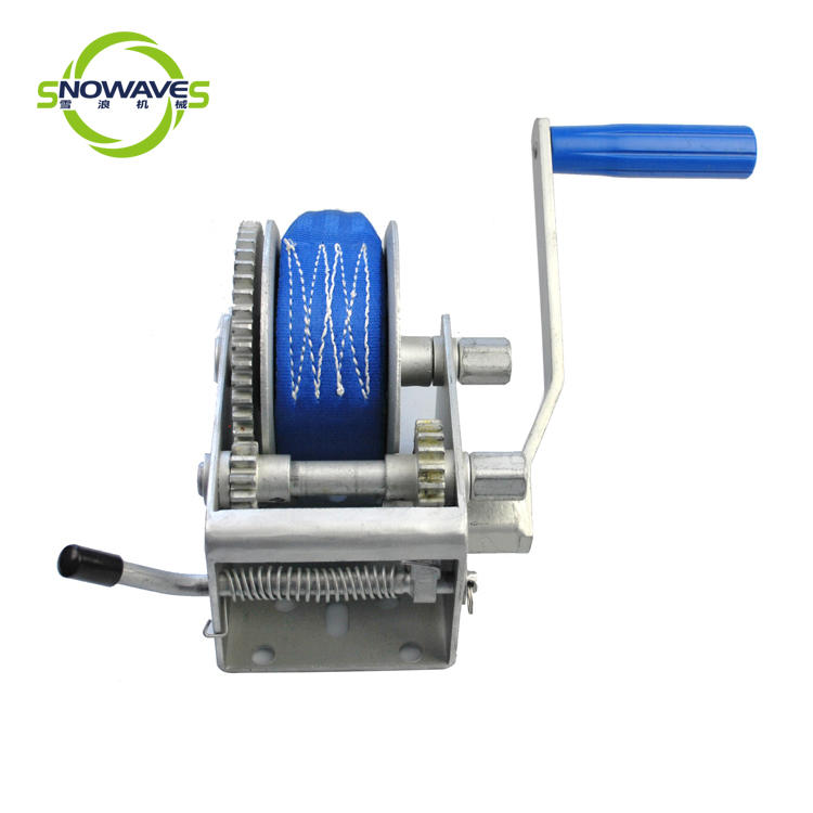 Snowaves Mechanical Best manual trailer winch factory for car-3