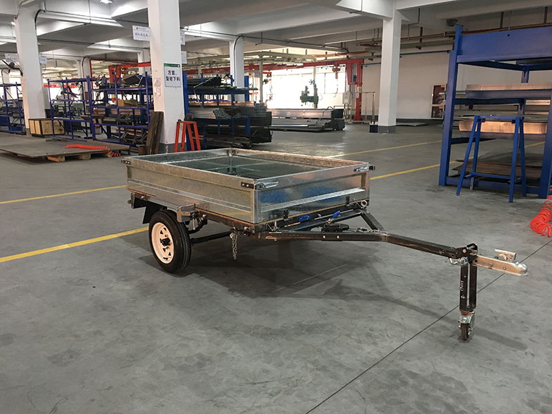 Snowaves Mechanical High-quality fold up trailer factory for one-way trips-6