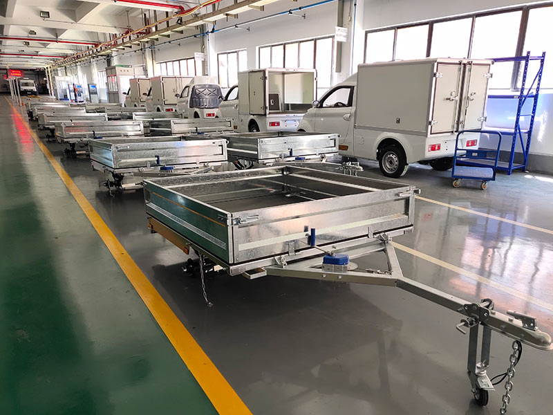 Snowaves Mechanical High-quality fold up trailer factory for one-way trips-12