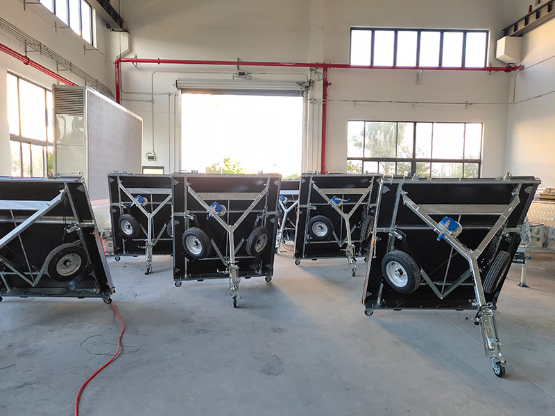 Snowaves Mechanical High-quality fold up trailer factory for one-way trips-13
