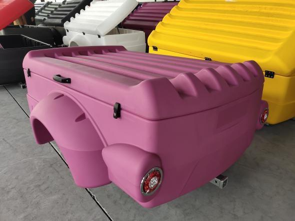 Snowaves Mechanical trailers plastic garden trailer for wholesale for outdoor activities