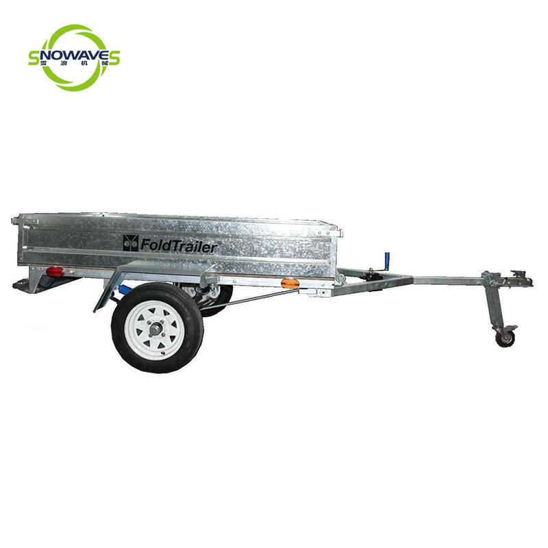 High quality fold trailer with Technical Data (FT751)