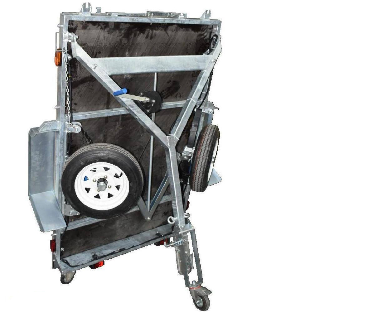 Snowaves Mechanical technical foldable trailer supply for trips-2