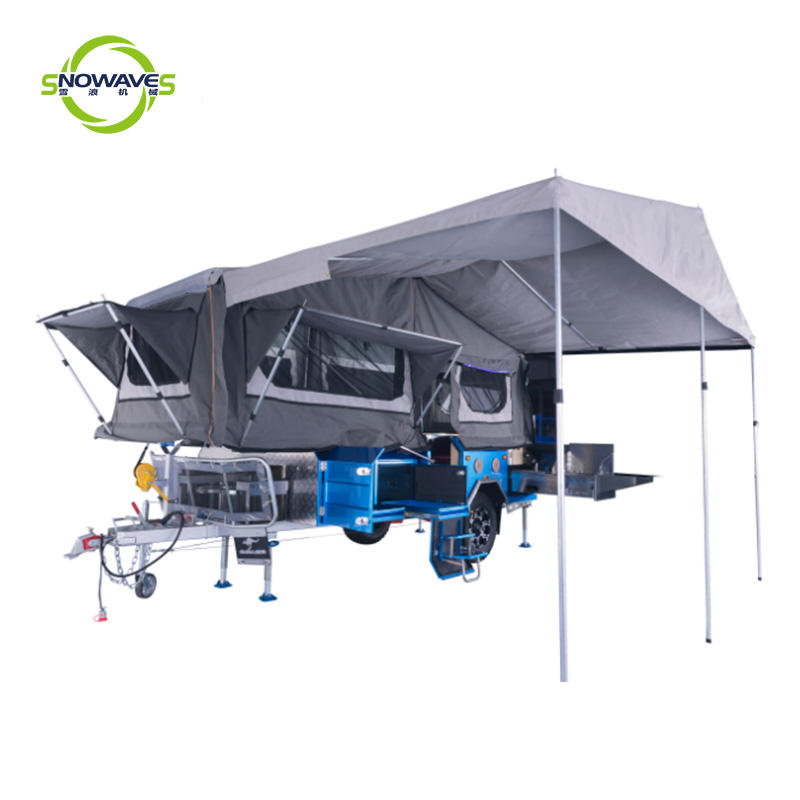 Forward Folding Camper Trailer