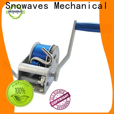 Latest manual winch for business for camping