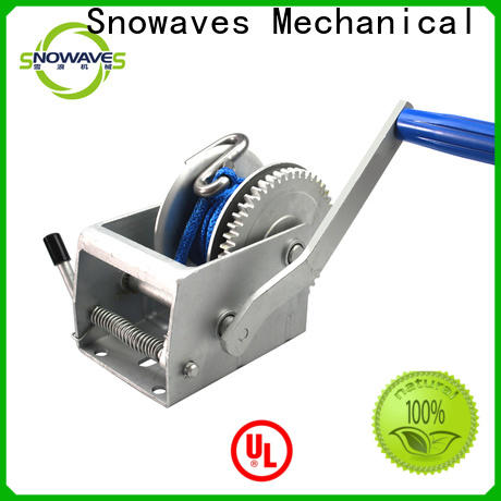 Snowaves Mechanical manual winch suppliers for outings