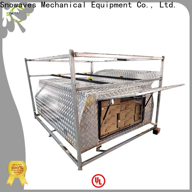 Top custom aluminum tool boxes truck for business for camping