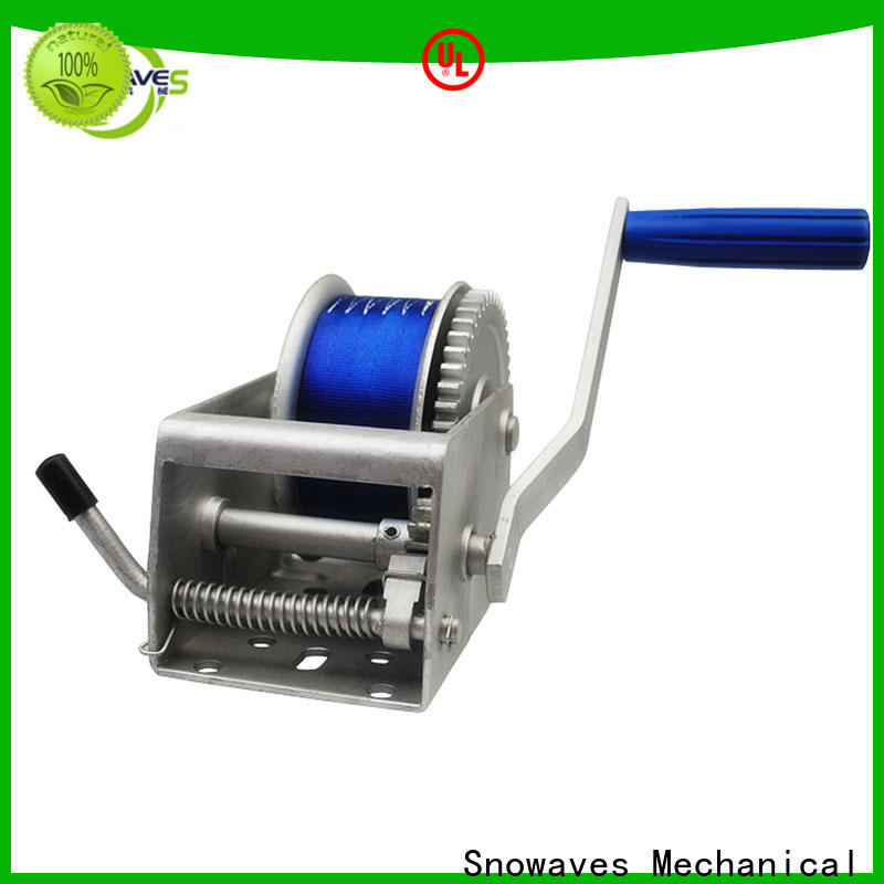 Snowaves Mechanical winch marine winch manufacturers for one-way trips