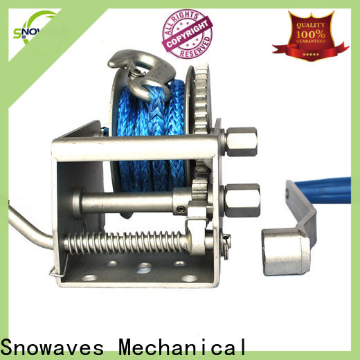 Snowaves Mechanical marine winch supply for trips