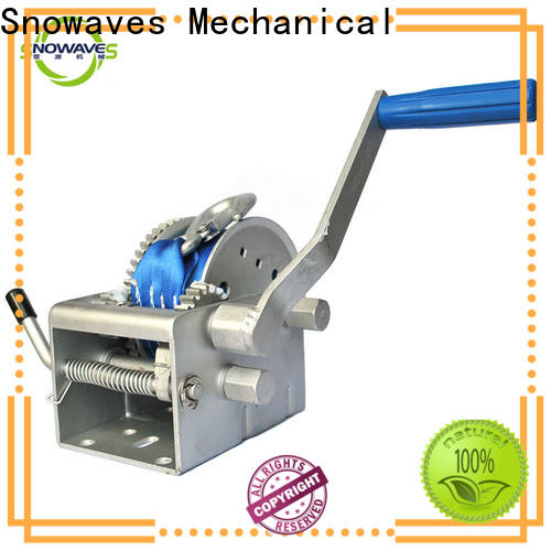 Snowaves Mechanical Top marine winch for sale for camp