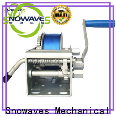 Snowaves Mechanical trailer marine winch for sale for picnics
