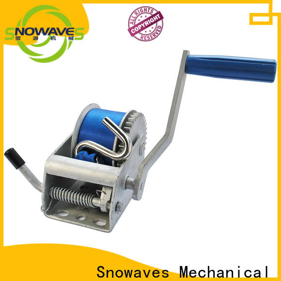 Snowaves Mechanical New manual winch for business for boat