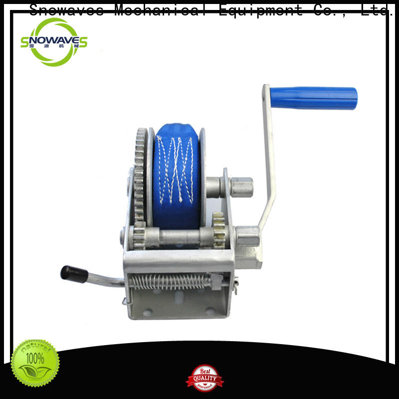 Snowaves Mechanical single hand winches supply for camping