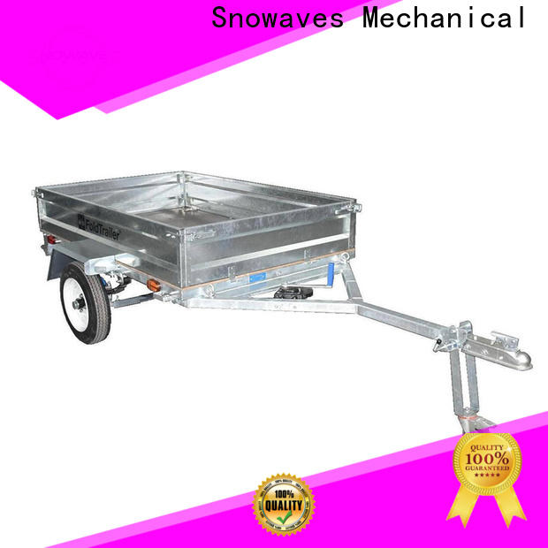 Snowaves Mechanical Latest folding trailers suppliers for one-way trips