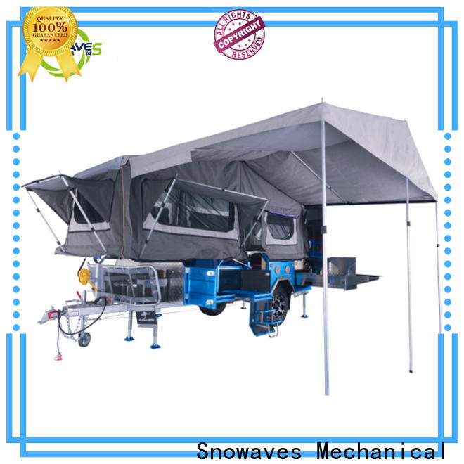 New fold up trailer folding suppliers for activities