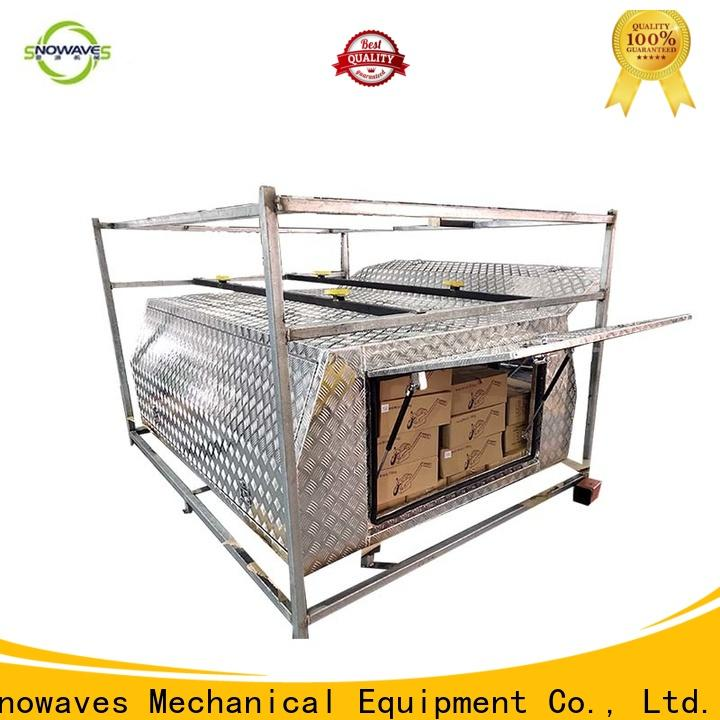 Snowaves Mechanical boxes custom aluminum tool boxes factory for picnics