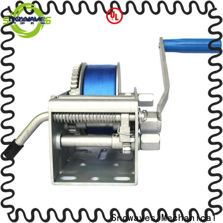 Snowaves Mechanical Custom marine winch for business for picnics