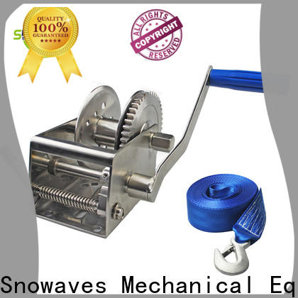 Snowaves Mechanical Top marine winch manufacturers for picnics