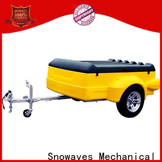 Latest plastic utility trailer luggage manufacturers for no cable
