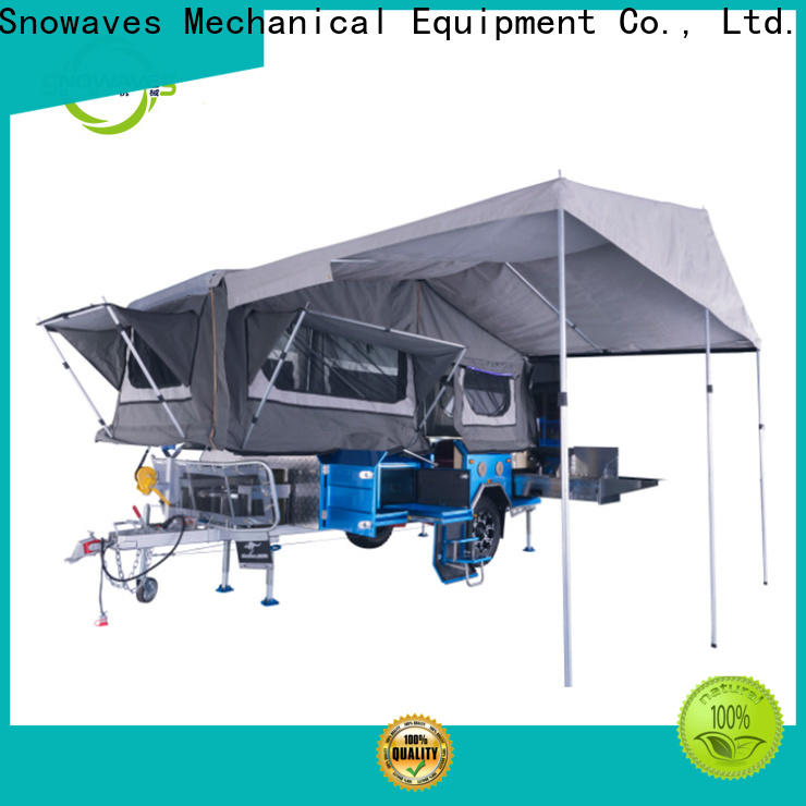 Snowaves Mechanical Latest folding trailers for sale for activities
