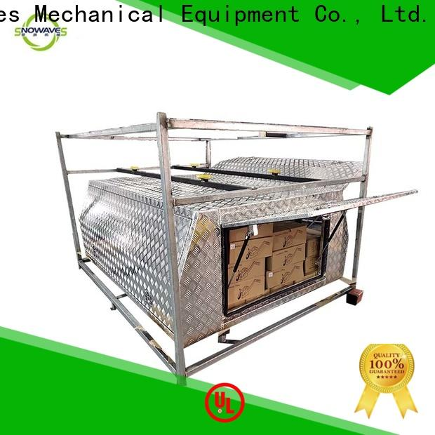 Snowaves Mechanical Top aluminum trailer tool box factory for camping