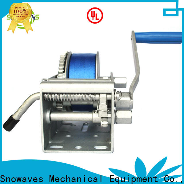 Snowaves Mechanical trailer marine winch for business for trips