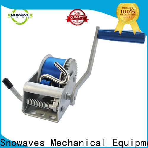 New hand winches suppliers for camping