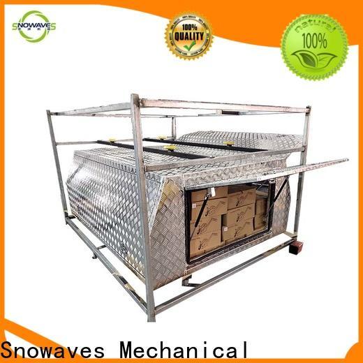 Snowaves Mechanical Wholesale aluminum trailer tool box company for boat