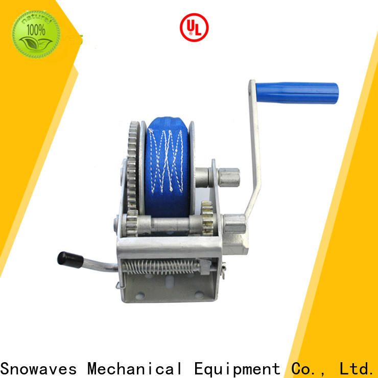 New hand winches single for business for outings