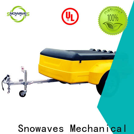 Snowaves Mechanical camping luggage trailer factory for no cable