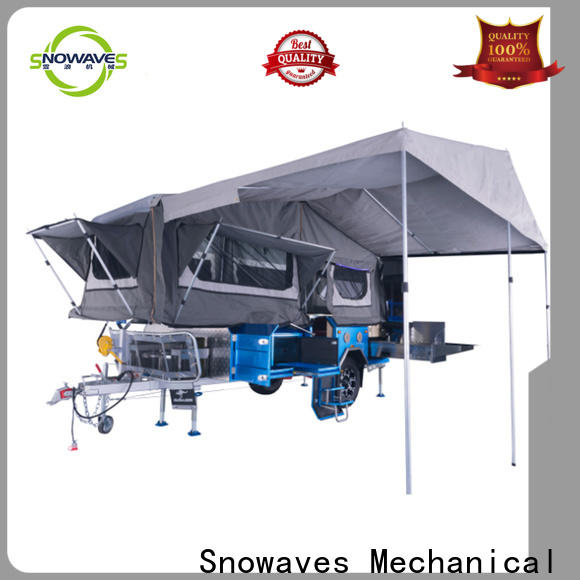 Snowaves Mechanical trailer folding trailers manufacturers for accident