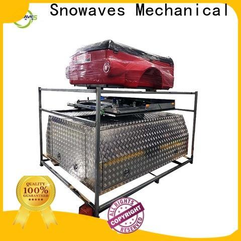 Snowaves Mechanical aluminum aluminum trailer tool box supply for car