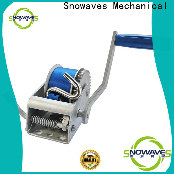 Snowaves Mechanical Latest hand winches for sale for boat