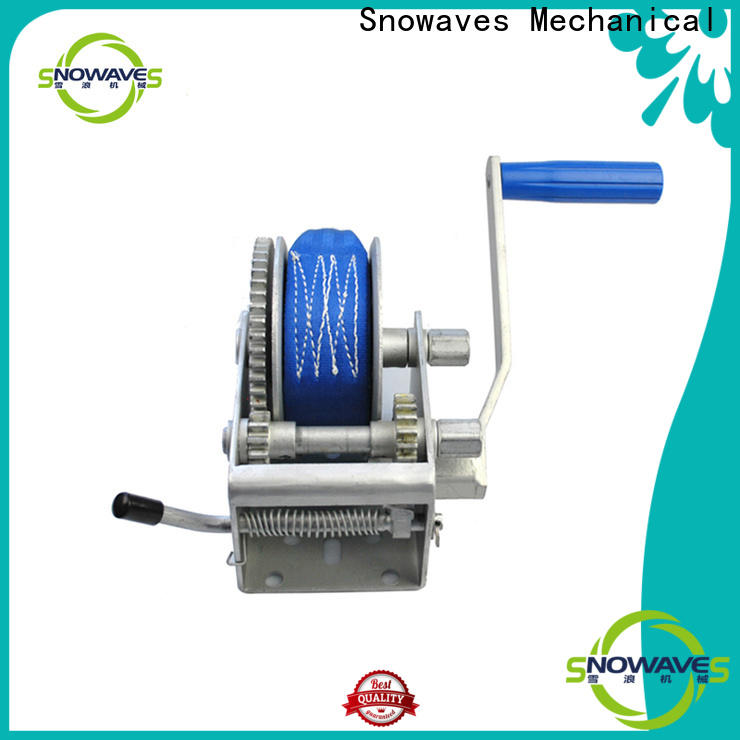 Snowaves Mechanical Top boat hand winch supply for camping