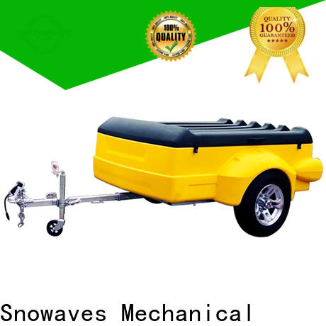 Snowaves Mechanical Top plastic utility trailer for business for outdoor activities