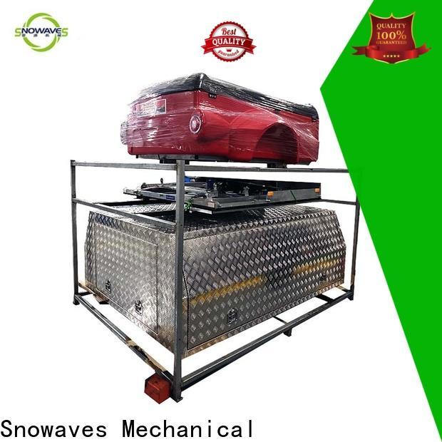 Snowaves Mechanical truck aluminum trailer tool box factory for car