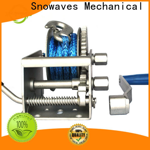 Snowaves Mechanical single marine winch for sale for picnics